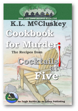 Cookbook for Murder: The Recipes from Fore! in the Hole ebook cover.